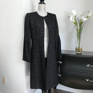 Calvin Klein Black Textured Topper Jacket